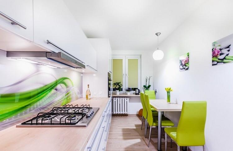 24 Gestaltungsideen fr Kche Glasrckwand und Glasarten