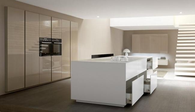 Küchenarbeitsplatte Weiß Hochglanz   4mm Alt Silber 300stk ...