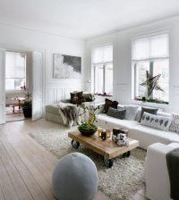 20 Ideen fr moderne Wohnzimmer - Einrichtung in neutralen ...