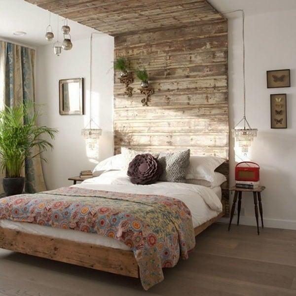 schlafzimmer wand hinter dem bettkopfteil | moregs, Badezimmer