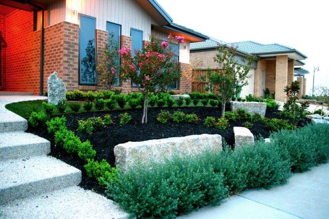 vorgarten mit hang gestalten   moregs, Gartenarbeit