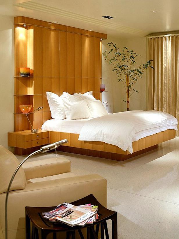 Ideen Attraktive Wandgestaltung Hinter Bett | Möbelideen
