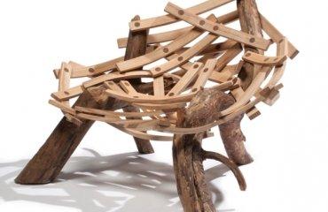 Mbel aus Treibholz strahlen einen rustikalen Charme aus  25 Ideen