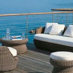 Veranda Chair Design Swivel Tub Rattan Gartenmöbel - Gartenparadies Im Mediterranen Stil Einrichten