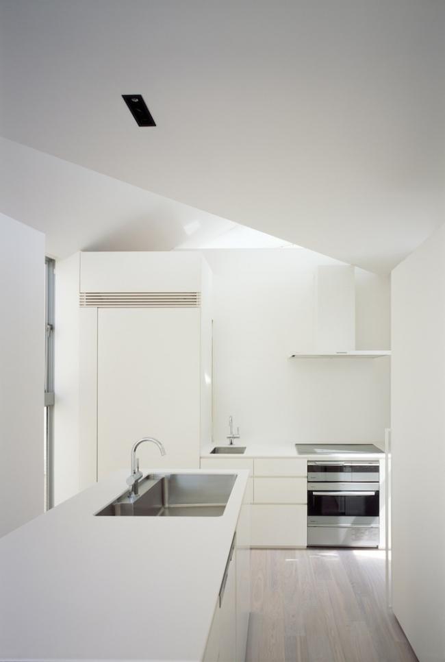 Architekten Haus Arrow In Tokio Mit Asymmetrischem Grundriss