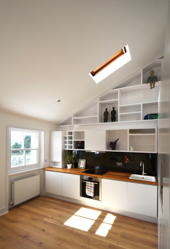 Moderne Dachgeschoss Wohnung in Camden mit