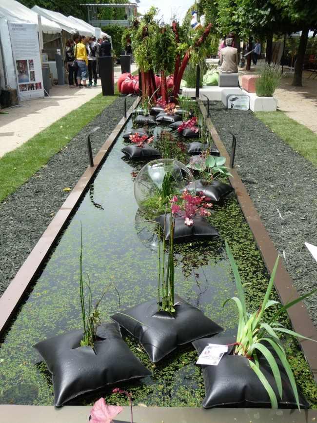 ffentliche Kunstinstallationen mit Pflanzen von Alexis Tricoire