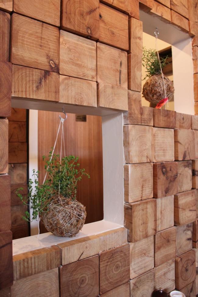 gartendeko selber machen oder basteln - boisholz, Terrassen deko
