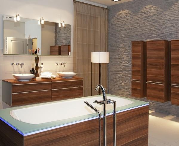 Moderne Badezimmer Einrichtung  praktische Gestaltungstipps
