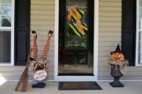 Deko Ideen zu Halloween Party mit Hexen - Hexenhaus