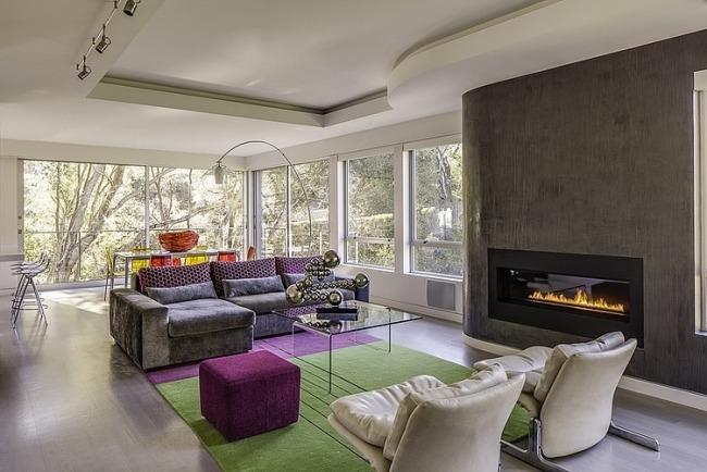 wohnzimmer gestalten modern - boisholz - Wohnzimmer Gestalten Grun