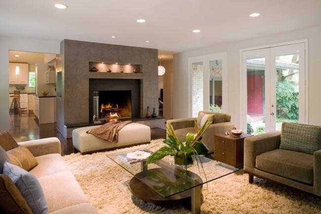 Beautiful Wohnzimmer Beige Grun Braun Photos - Home Design Ideas ... Wohnzimmer Beige Braun Grun