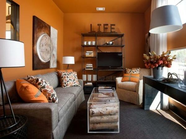 kleines wohnzimmer - boisholz - Kleine Wohnzimmer Gestalten