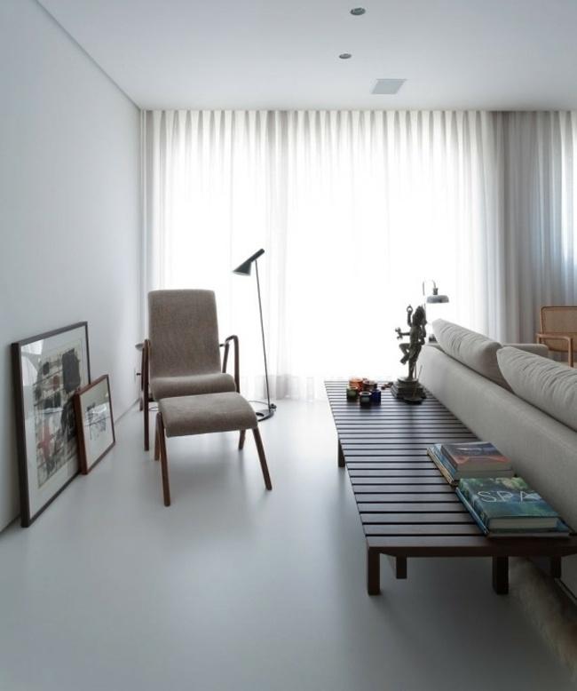 Purismus trifft auf Exotik  Wohnung mit eklektischer