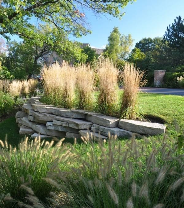 Winterharte Pflanzen Im Garten Gestaltungsideen Mit Pampasgras