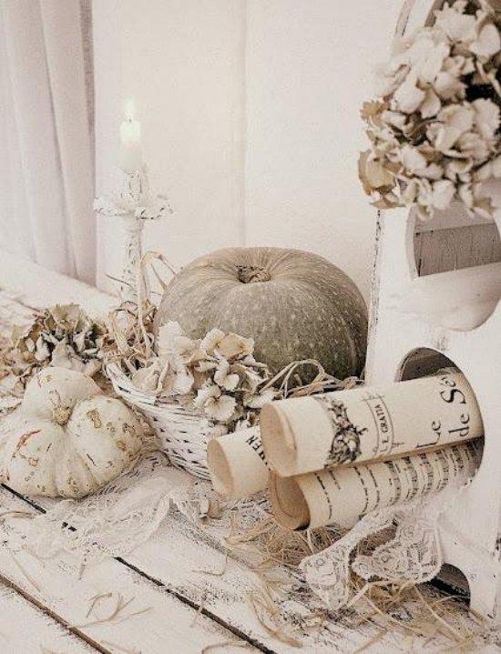 Dekoration Herbst Dekorationen Herbstdeko Ideen Weis Interieur L
