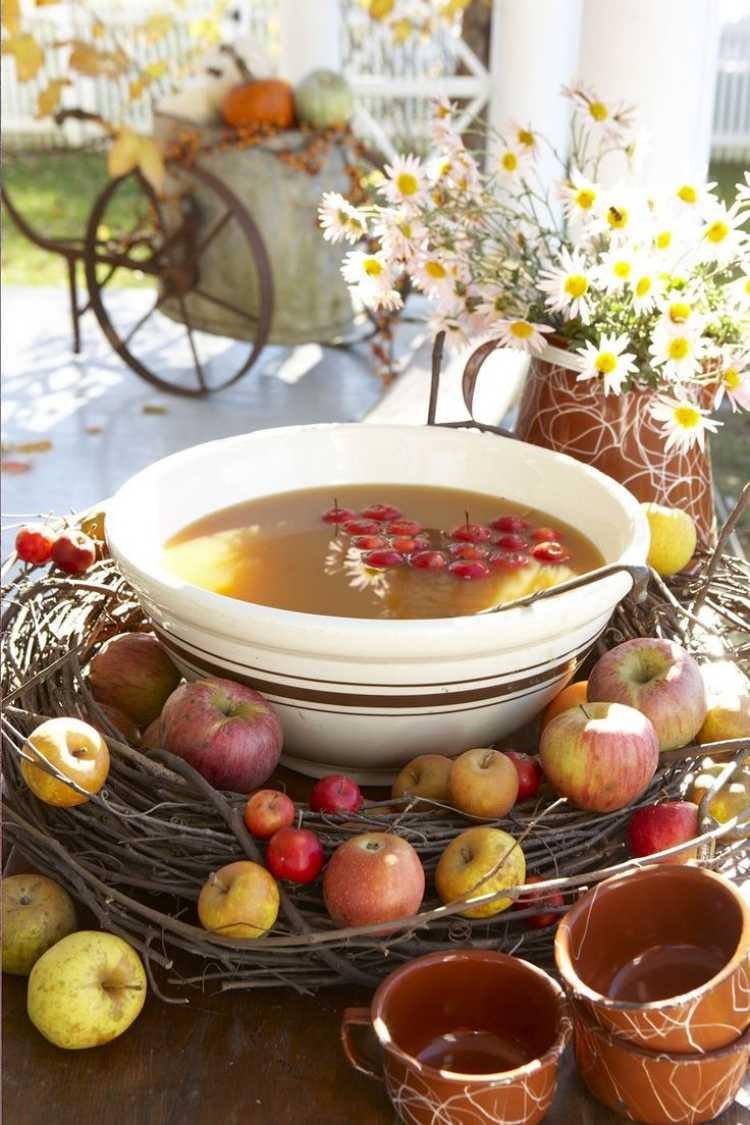 Tischdeko Herbst Geburtstag Deko Ideen Geburtstag Herbst Frisch