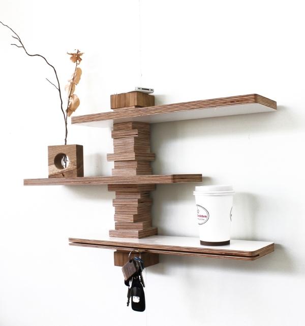 Die JO Mbel Serie von Andreas Janson  Kreativ verarbeitete Holzreste