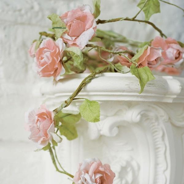Fantasievolle Papier Blumen basteln und bemalen  schnelle