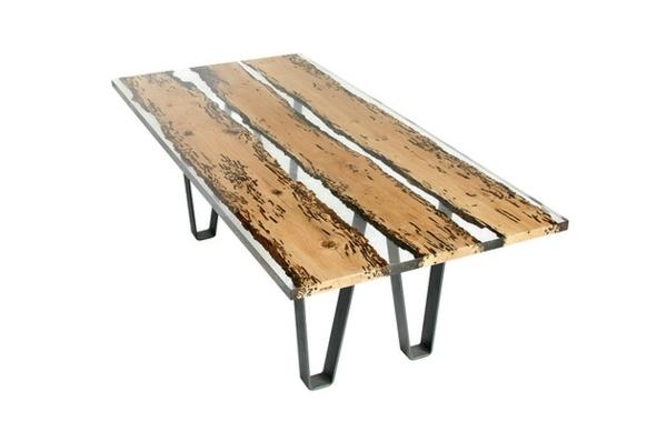 Nauhuri Esstisch Aus Glas Und Holz Neuesten Design Esstisch,