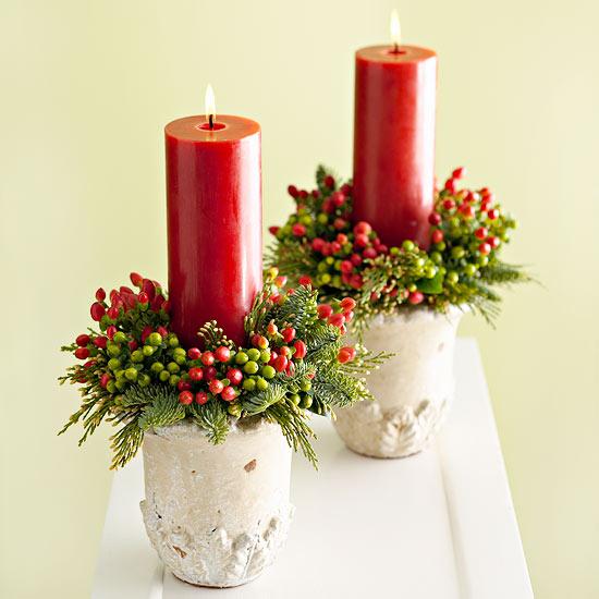 Tischdekoration zu Weihnachten  Einfache  schnelle Ideen