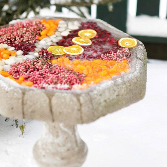 28 Ideen Fr Weihnachtsdeko Im Garten Zum Selbermachen