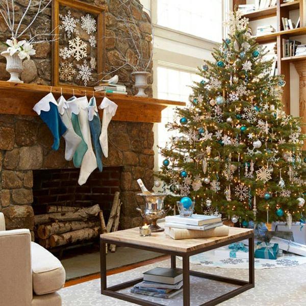 35 festliche Weihnachtsdeko Ideen  Klassische Arrangement