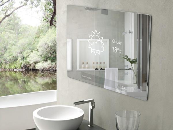 Innovativer Bad Spiegel  HighTech Produkt fr das Badezimmer