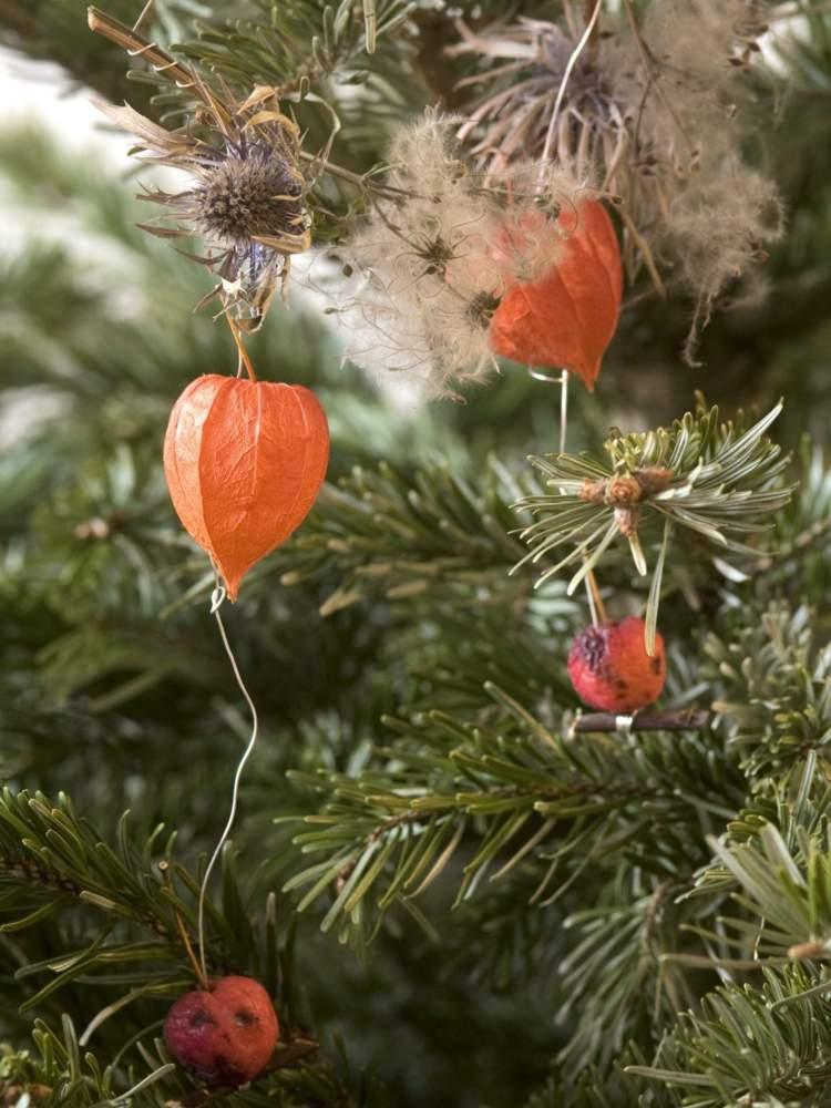 Deko zu Weihnachten mit gnstigen Materialien basteln