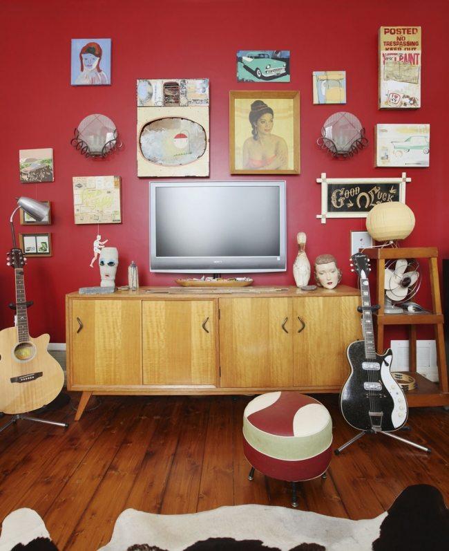 Einrichtung im RetroStil  Die Mbel und Farben aus den 60er Jahren
