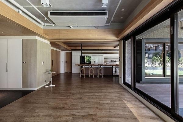 Groartig Industrieller Schick Interieur Moderner Wohnung Galerie