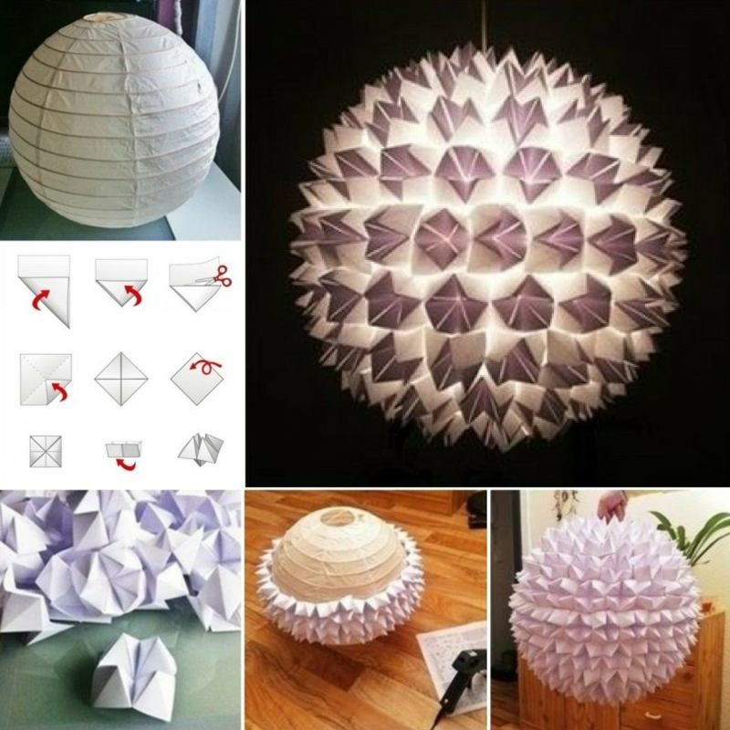 how to make origami ball step by step