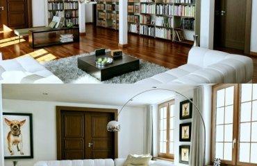 Moderne Wohnwnde von GruberSchlager  Unendlich vielfltige Designs
