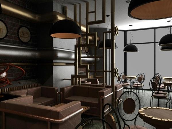 Modernes Innendesign und erlesene Deko im Steampunk Stil
