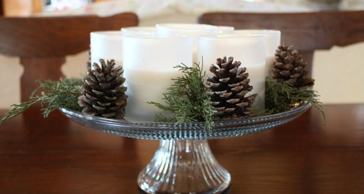 Winterliche Tischdeko Ideen fr Weihnachten und den Advent