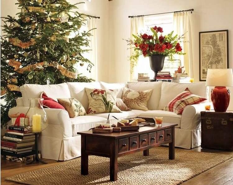 Weihnachstdeko fr kleine Wohnung  Kreative Ideen auf engstem Raum