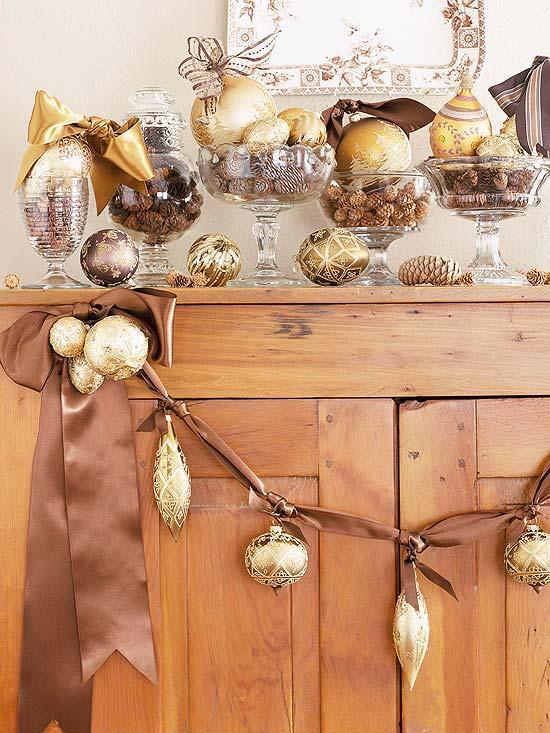 Weihnachtsdeko und Ideen fr Zuhause  Festliche Girlanden