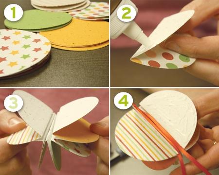 Weihnachtsbaumschmuck aus Papier 32 kreative DIYIdeen