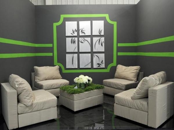 Wandgestaltung Wohnzimmer Streifen Grau - Boisholz Wandgestaltung Wohnzimmer Grau Streifen