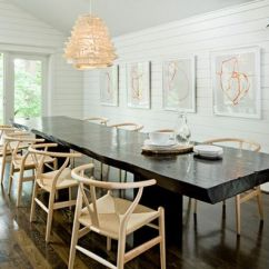 Wishbone Chairs Dining Table Chair Covers Uk Abstrakte Kunst Als Dekorationsmittel Für Das Moderne Heim Verwenden
