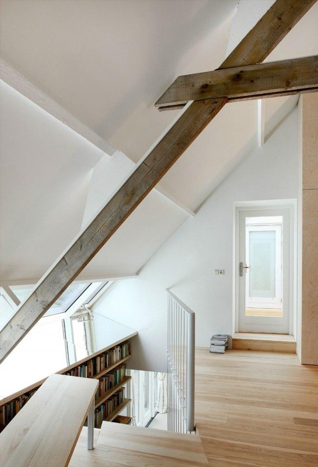 Umgebautes Haus mit Satteldach bietet offenes und grozgiges Wohnen