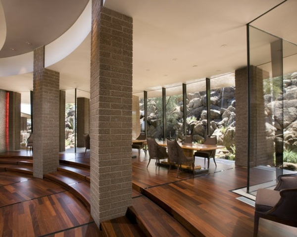 Best Wohnzimmer Ideen Dunkler Boden Gallery - Amazing Design Ideas ... Dunkle Fliesen Wohnzimmer Modern