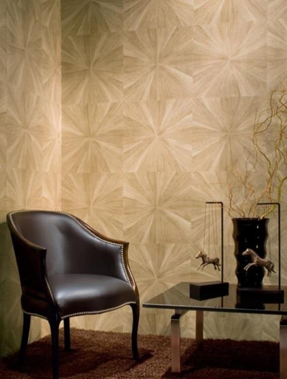 Wandgestaltung mit handgefertigten Luxus Tapeten von Maya Romanoff
