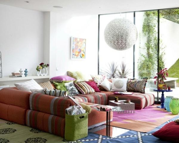 Design Dekoideen Wohnzimmer Rot Inspirierende Bilder Von
