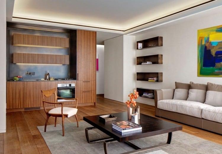 stunning deckenbeleuchtung wohnzimmer led gallery - home design, Wohnzimmer