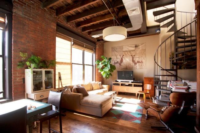 Einrichtung im industriellen Wohnstil  Ideen fr loftartiges Ambiente