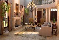 Moderne Einrichtung mit rustikalem Wohnkonzept im Stil der ...