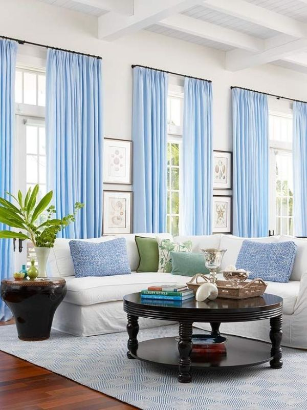 Mobel Wohnzimmer Ideen Gardinen Vorhange Dezent Lichtdurchlassig