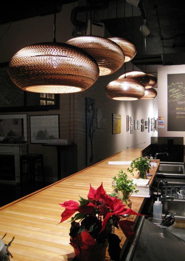 Modernes Lampen Design  stilvolle Ideen fr Raumgestaltung mit Licht