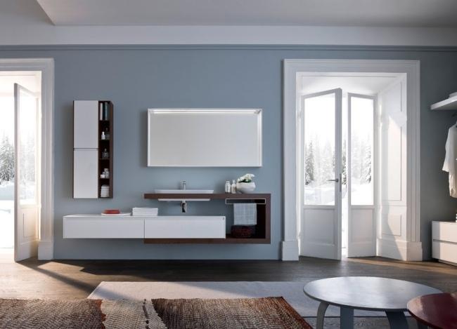 Ideen fr Badmbel Design  moderne und minimalistische Waschtische